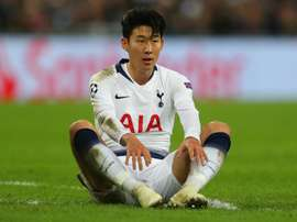 Son has not scored in his last four Champions League games. GOAL
