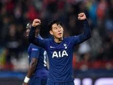 Son decide pelo Tottenham e volta a sorrir. GOAL