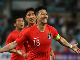 Tottenham striker is hoping to claim glory with country South Korea. GOAL