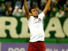 Sornoza Chapecoense Fluminense Brasileirao Serie A. Goal