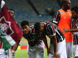 'Flu' tem tudo encaminhado para eliminar os uruguaios do Liverpool. Goal