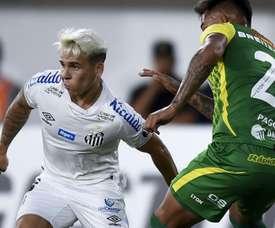 Soteldo foi o cara da vitória do Santos na estreia da Libertadores. Goal