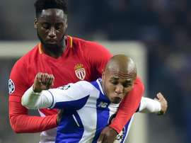 Souhailo Meite et Yacine Brahimi, FC Porto-AS Monaco, UEFA Champions League. GOAL