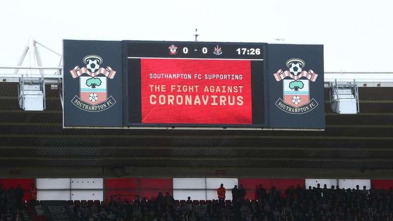 Coronavirus: Southampton chief calls for return of Premier League action. Goal