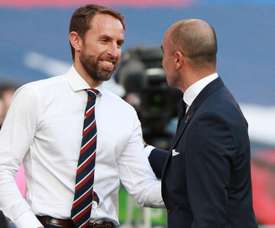 Southgate was delighted. GOAL