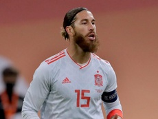 Spain defender Sergio Ramos has been linked with PSG. GOAL