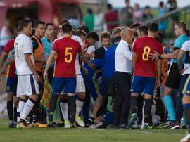 Ceballos suffered a neck strain during Spain Under-21's clash with Italy. GOAL
