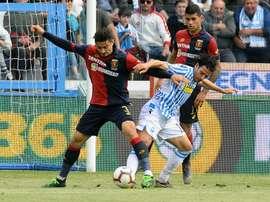 Gunter al Verona. Goal