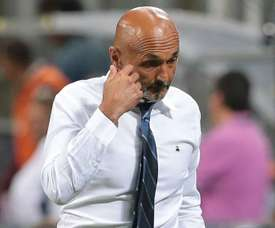 Spalletti was unhappy with the mistakes his side made in Sunday's game. GOAL