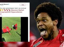 Spartak causou polêmica nas redes sociais. Goal