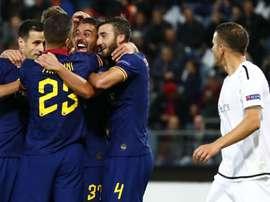 Termina 1-1 la seconda gara in Europa League della Roma. Goal