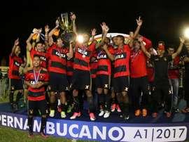 Título estadual foi muito celebrado pelo conjunto do Sport. Goal