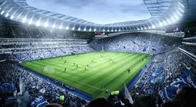 Spurs' new stadium is running late and over budget. GOAL