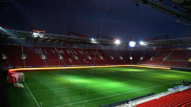 Olympiakos-Marseille se jouera à huis clos. AFP
