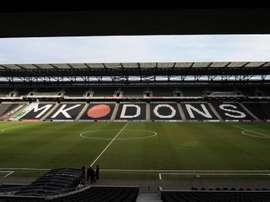 stadium mk MK Dons League One. Goal