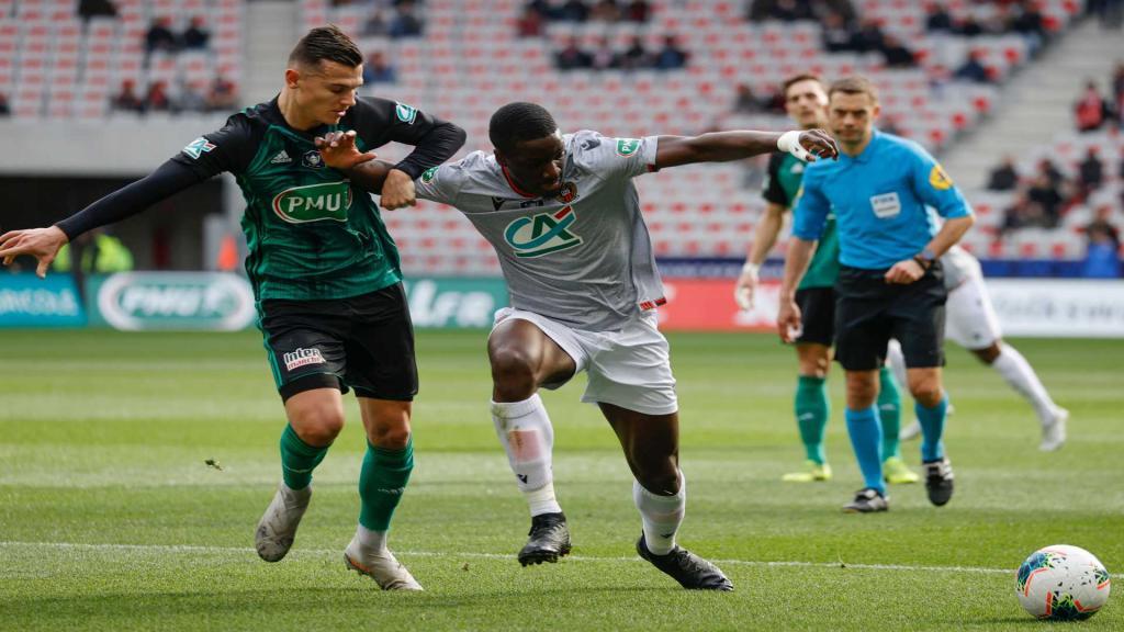 Ignatius Ganago envoie Nice en quarts — Coupe de France