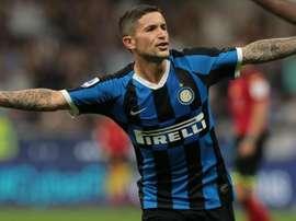 Il centrocampista dell'Inter Sensi. Goal