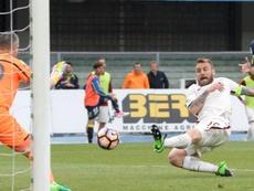 Sorrentino saluta De Rossi. Goal