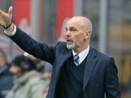 Inter manager Stefano Pioli. Goal