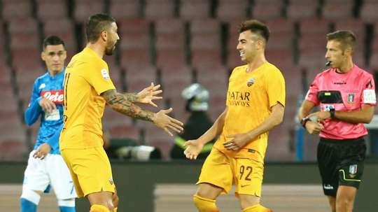 El Shaarawy trascinatore, ma Mancini lo ignora. AFP
