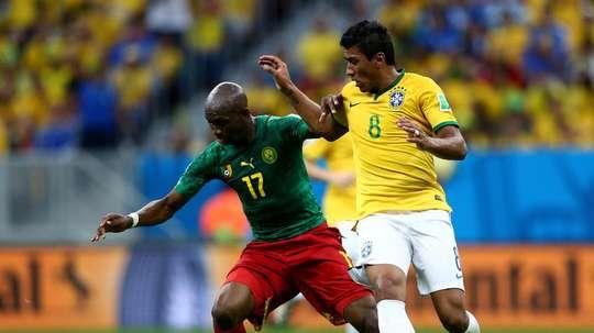 Brazil 2014 World Cup Group A. Goal