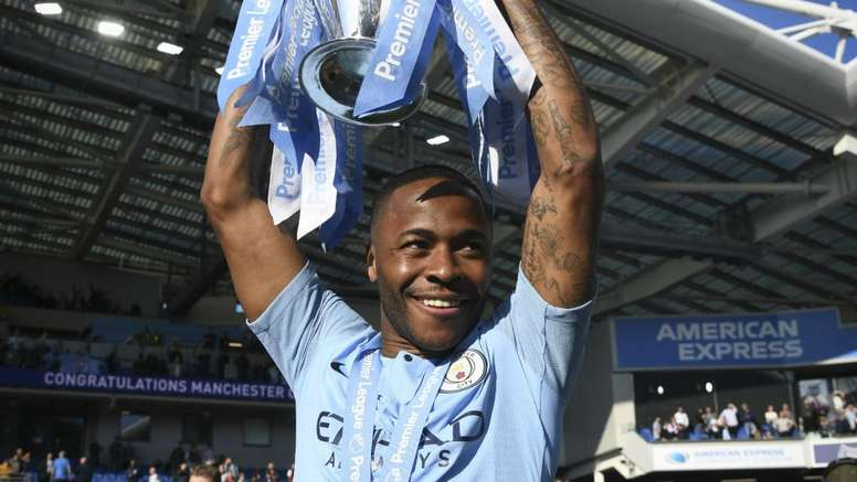 Sterling warns rivals: Man City want Premier League three-peat.