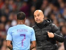 Guardiola hails superstar Sterling