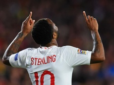 Sterling revels in England glory
