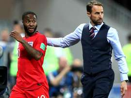 Ferdinand accuses Southgate of hanging Sterling out to dry. AFP