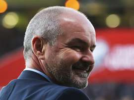 Steve Clarke was happy with how his team bounced back v San Marino. GOAL