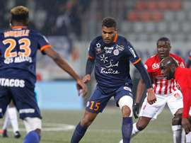 Steve Mounie, Montpellier - Nancy. GOAL