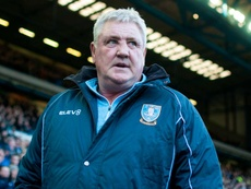 Steve Bruce is under a lot of pressure to perform. GOAL