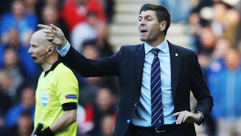 Gerrard rallies Rangers for final Europa League push