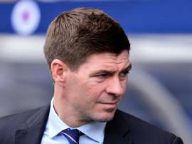 Steven Gerrard has been heavily linked with Derby County. GOAL