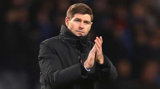 Gerrard is at Rangers. GOAL