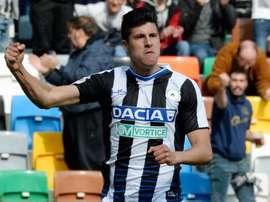 Calciomercato Udinese, Perica in prestito al Mouscron: è ufficiale