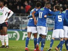 Strasbourg gagne sa place pour la suite de la compétition. Goal
