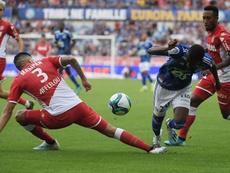 Malgré Slimani, Monaco n'y arrive toujours pas. AFP