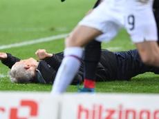 Un coach agressé en plein match en Allemagne. AFP