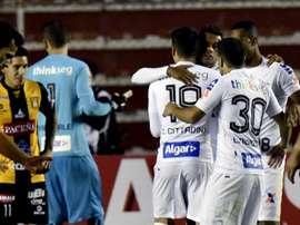 'Peixe' está a protagonizar boa prestação na Libertadores. Goal