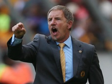 Stuart Baxter has warned South Africa's Group D rivals his side are not intimidated. GOAL