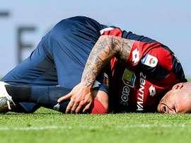 Il centrocampista del Genoa, ex Juve, Sturaro. Goal