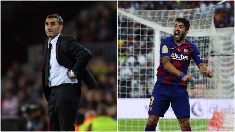 Suarez pays tribute to Valverde. GOAL