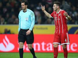 Sule questions penalty call. GOAL
