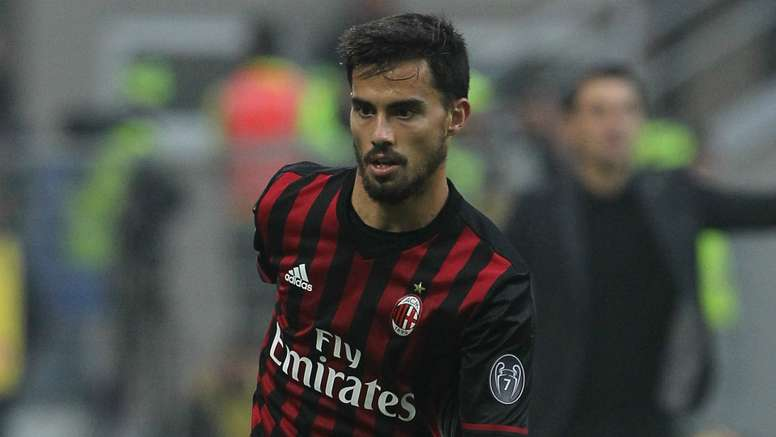 Suso in action for AC Milan. Goal