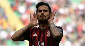 Suso has hit form in Milan. GOAL