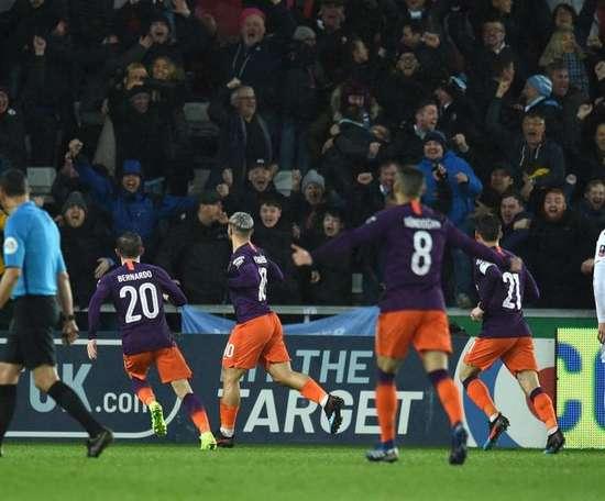 City verra les demi-finales de la Cup. Goal