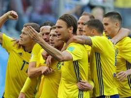 Sistema defensivo garante Suécia nas quartas.Goal