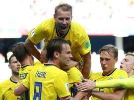 Granqvist offre la victoire à la Suède. Goal