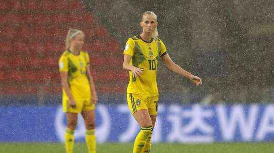 Sweden women were victorious by 2-0 against Chile. GOAL